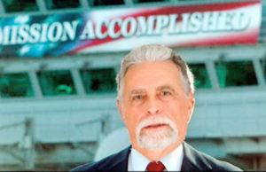 Kleinbrenner declares Mission Accomplished